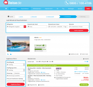 Screenshot Deals Kreta Hotel Adonis