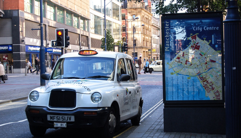 Taxi in Manchester