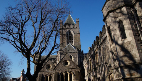 Die St. Patrick´s Cathedral in Dublin Irland