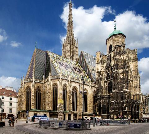Der Wiener Stephansdom Sehenswürdigkeit
